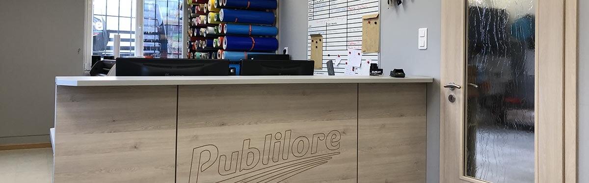 Comptoir de PUBLILORE
